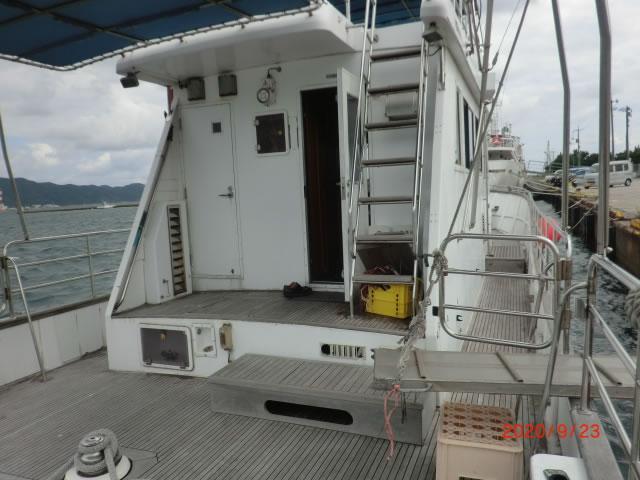 ヤマハカスタムフィッシングボート